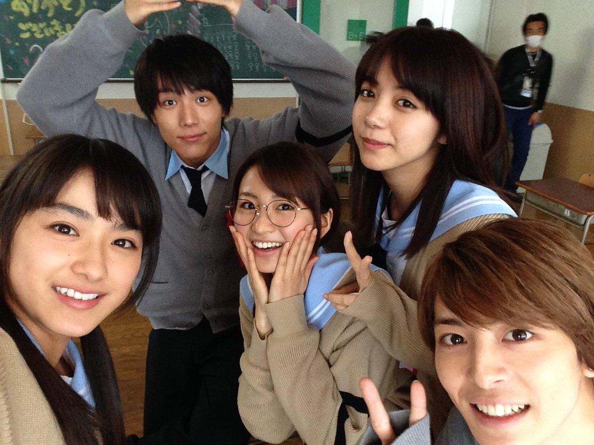 新学期🏫💕いつものクラスメイトと会うと元気がでますね✨『#ReLIFE』3年6組のメンバーも元気が溢れてます!!