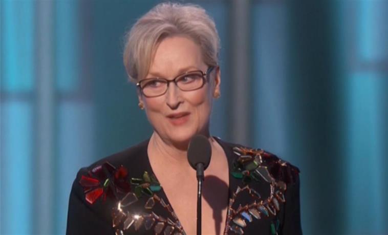 Meryl Streep 'embistió' contra Donald Trump en los Globos de Oro  <a href=