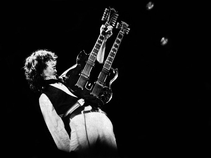 "In the encyclopaedia, under ""Rock God\"" it says \""see him\"". Happy Birthday, Jimmy Page!"