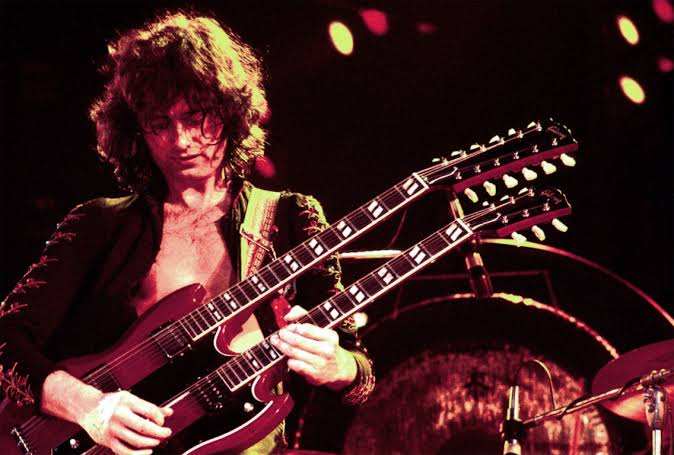 Happy Birthday Jimmy Page who is 73 today