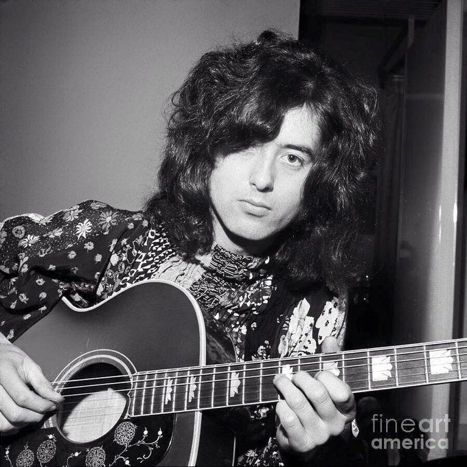 Happy 73rd Birthday to Jimmy Page of Led Zeppelin