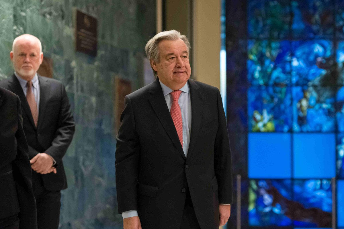 U.N. Secretary-General @antonioguterres: My vision for a better United Nations