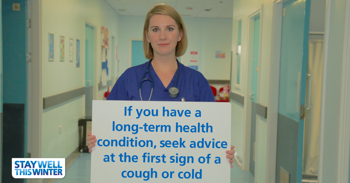 Temperatures are due to drop later this week. People with long term conditions should take extra care: https://t.co/4pDB053Yvj
