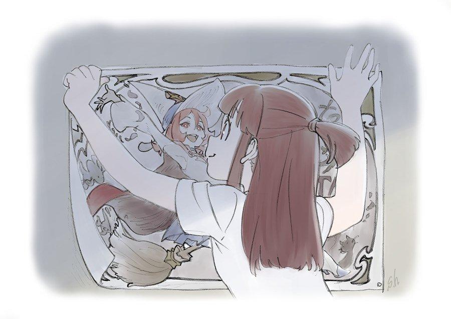 さらにTVアニメ『リトルウィッチアカデミア』各話イラストを公開!!毎週各話数に沿った内容のイラストをアップしていきますの