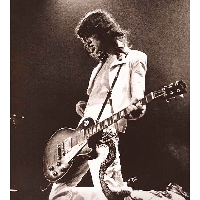 Happy Birthday to the best riff maker of the Rock&roll history Jimmy Page