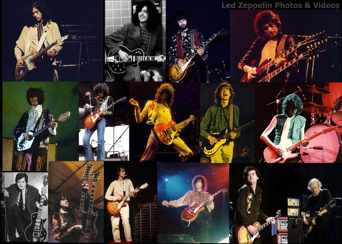 "Happy Birthday to Jimmy Page aka ""Mr Entertainment\"" himself. Thanks for all the memories!"