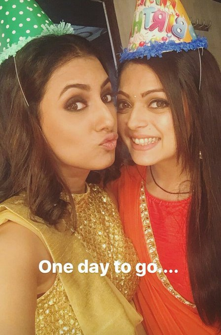 Yayy! Only 8 hours to go for Happy Birthday Drashti Dhami..