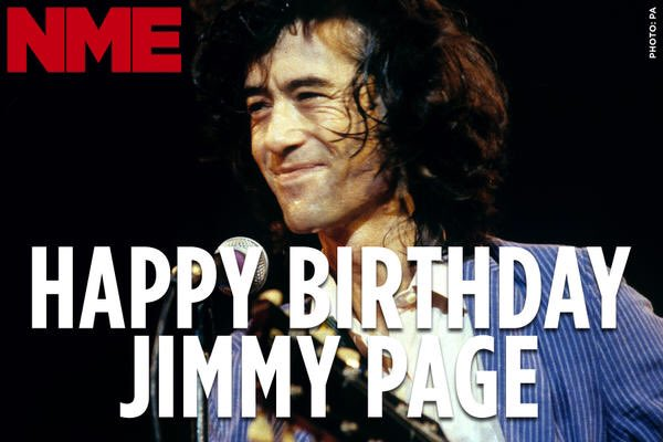 Jimmy Page Happy Birthday!!