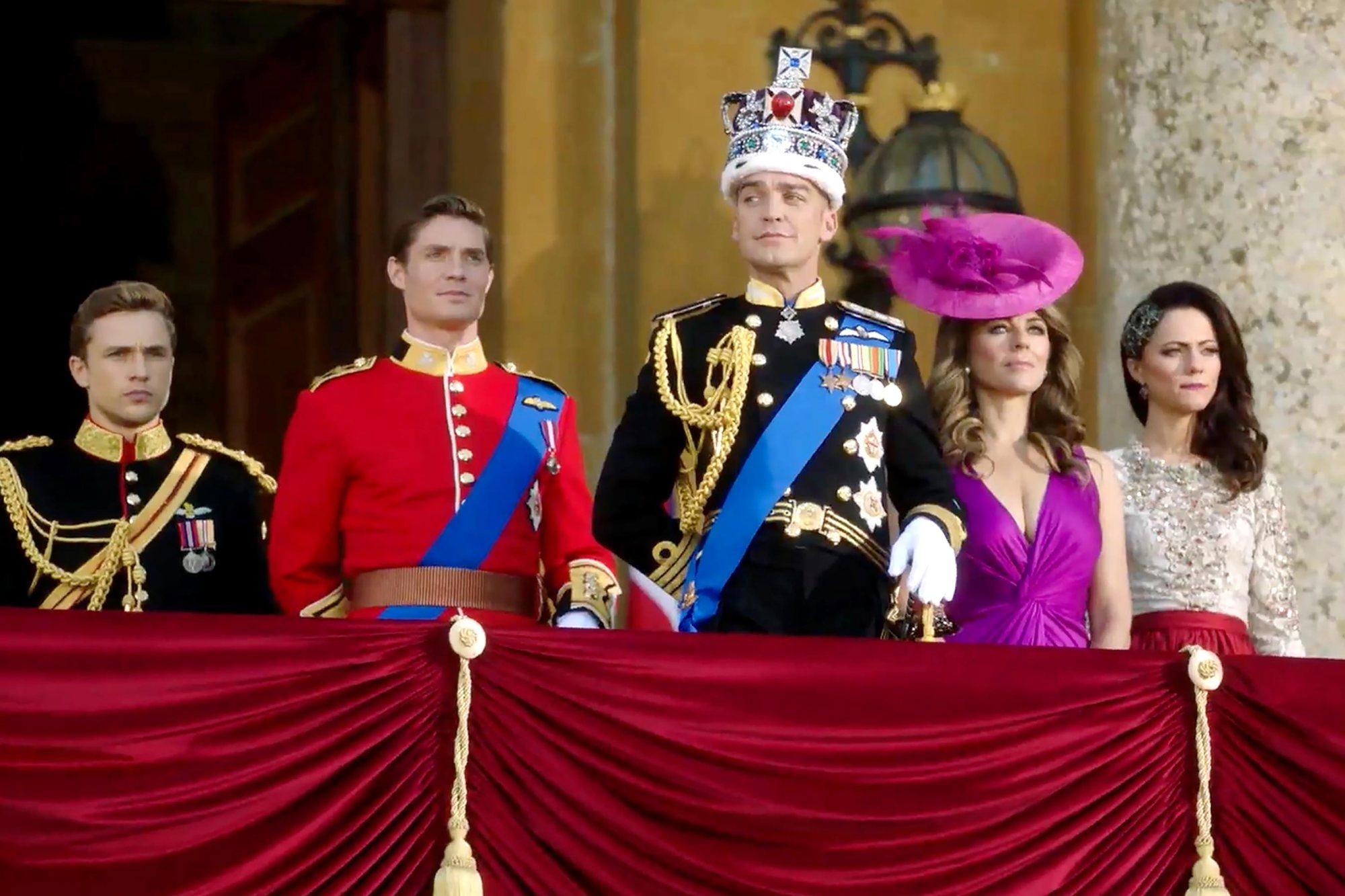 Приподнял ковер, члены королевской семьи онлайн бесплатно