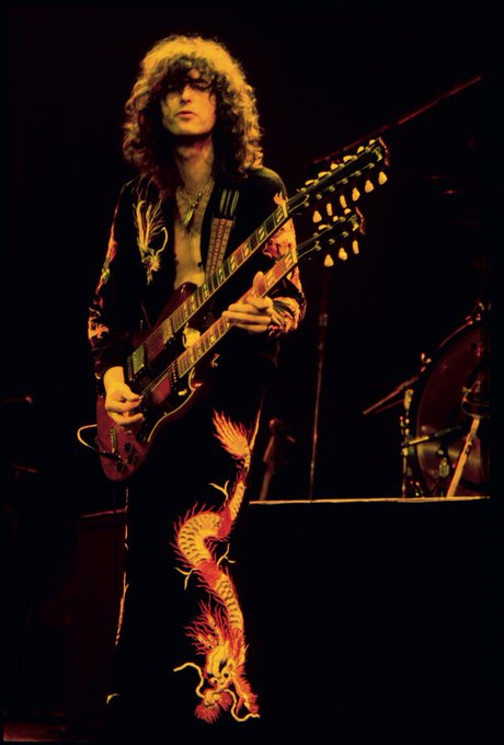 Happy 73rd Birthday, Jimmy Page!