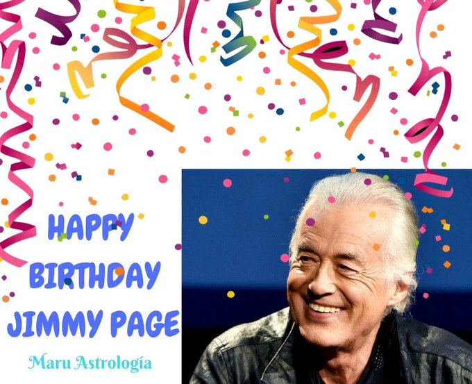HAPPY BIRTHDAY JIMMY PAGE!!!!