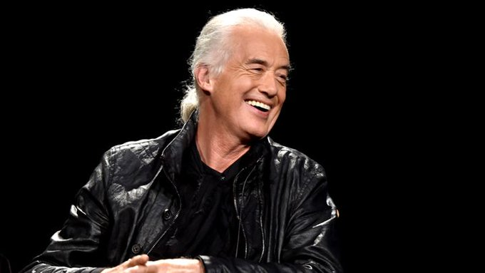 Guitarist Jimmy Page of Led Zeppelin is 73. Happy Birthday, Jimmy!