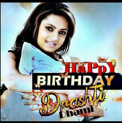 Happy Birthday Drashti Dhami God bless have Rocking year