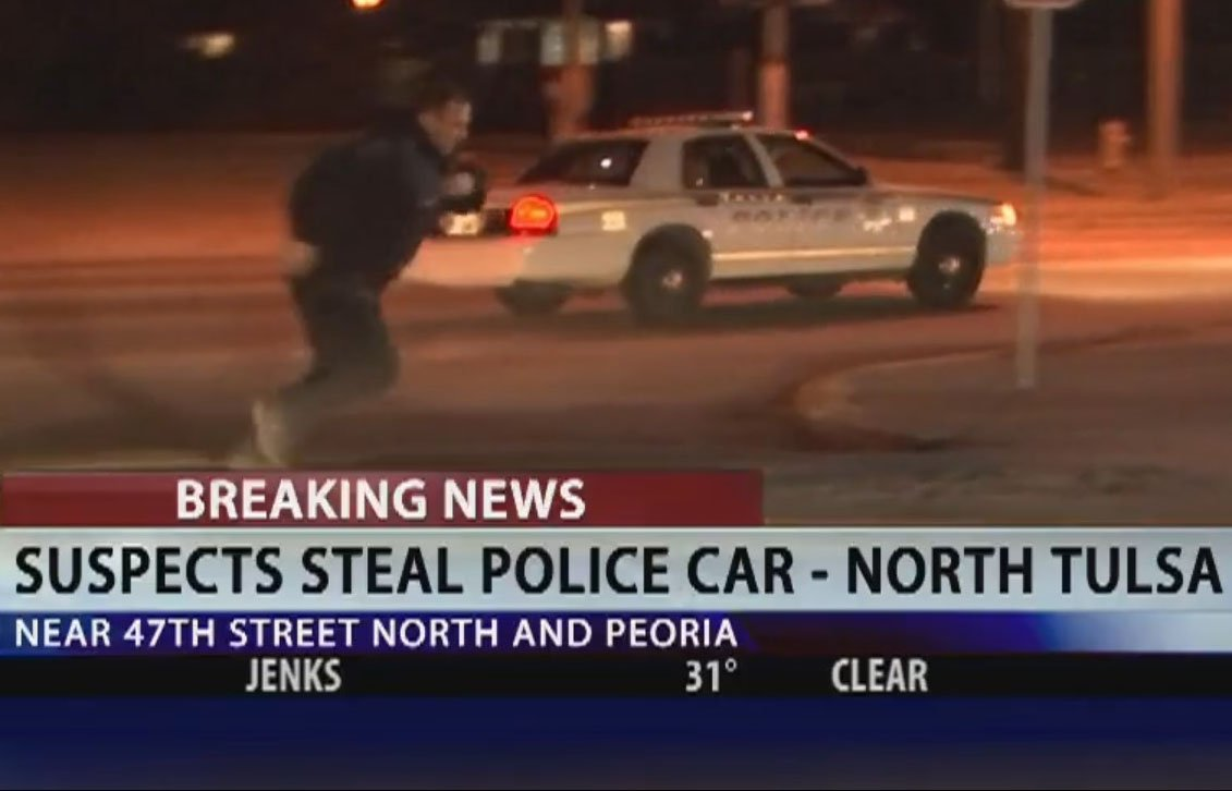 WATCH: Carjacking Suspect Steals Police Patrol Car During Investigation https://t.co/yXZlrrQRXD