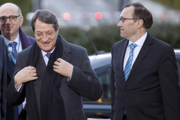 Cyprus leaders meet in hopes of reunifying long-split island
