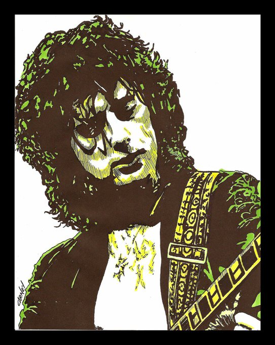 Happy 73rd Birthday to Led Zeppelin\s Jimmy Page, one of the greatest guitarists ever! You rock my soul!