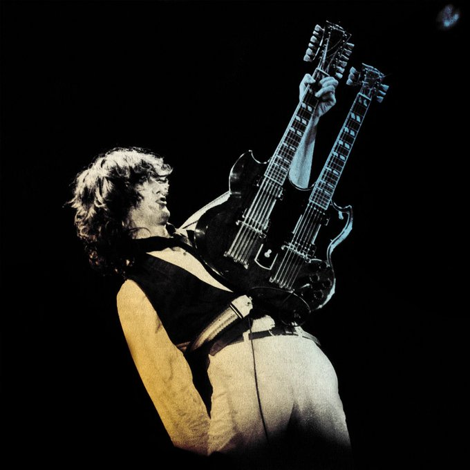 Happy Birthday to Jimmy Page! He was in a couple of bands you may be familiar with...the Yardbirds and Led Zeppelin.