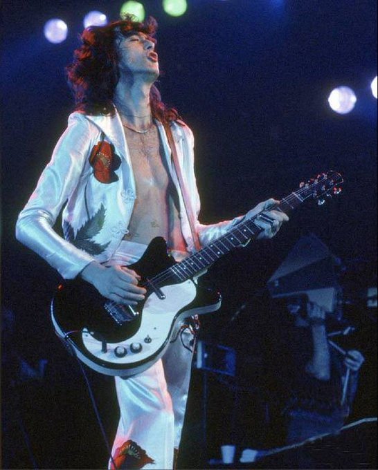 73 today! Jimmy Page with his Danelectro DC59. Happy Birthday.