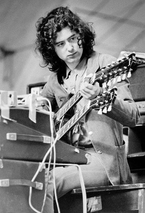 Jimmy Page turns 73 today! Happy Birthday to a living legend! Cheers mate!