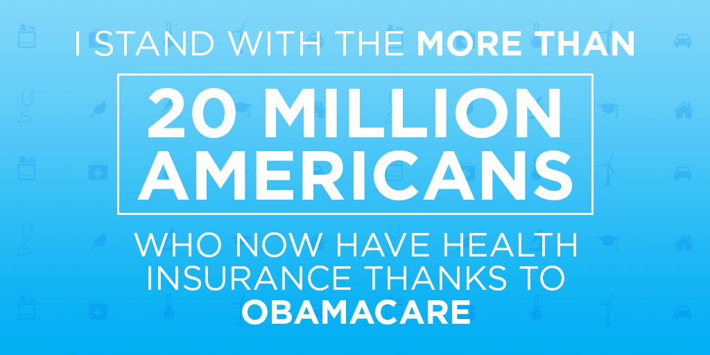 The ACA provides care for millions of Americans — RT if you're going to fight to protect it. https://t.co/XYOQACgJby