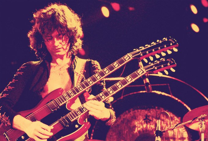 Happy Birthday, Jimmy Page! Former Yardbirds, Led Zeppelin and Firm guitarist was born on this date in 1944.
