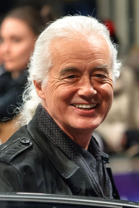 Happy Birthday Jimmy Page!  Ran into him in 2013 - reported to New York Post.