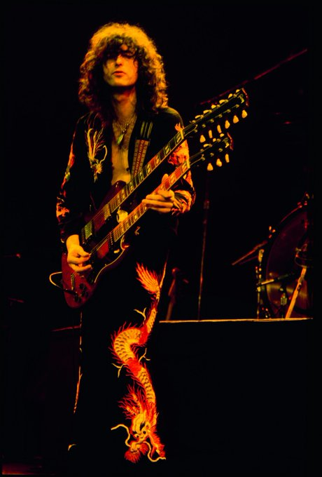 Happy Birthday to this Guitar & Rock n\ Roll Legend, Jimmy Page