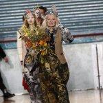 Vivienne Westwood closes London men's fashion week in eccentric style