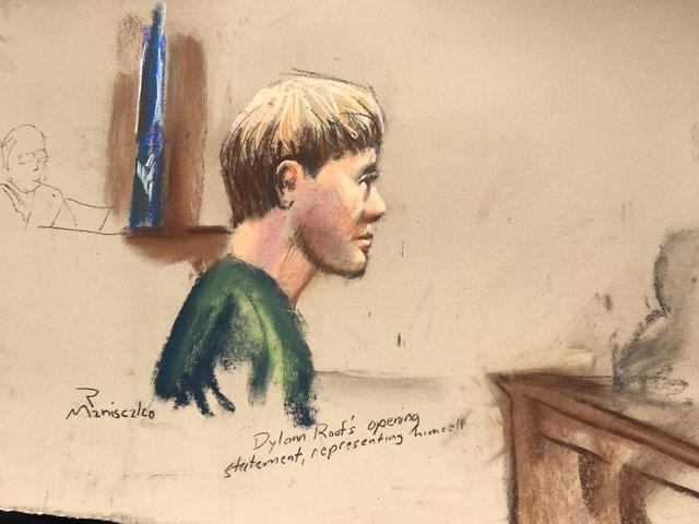 South Carolina church shooter Dylann Roof stands by his pledge not to defend himself: