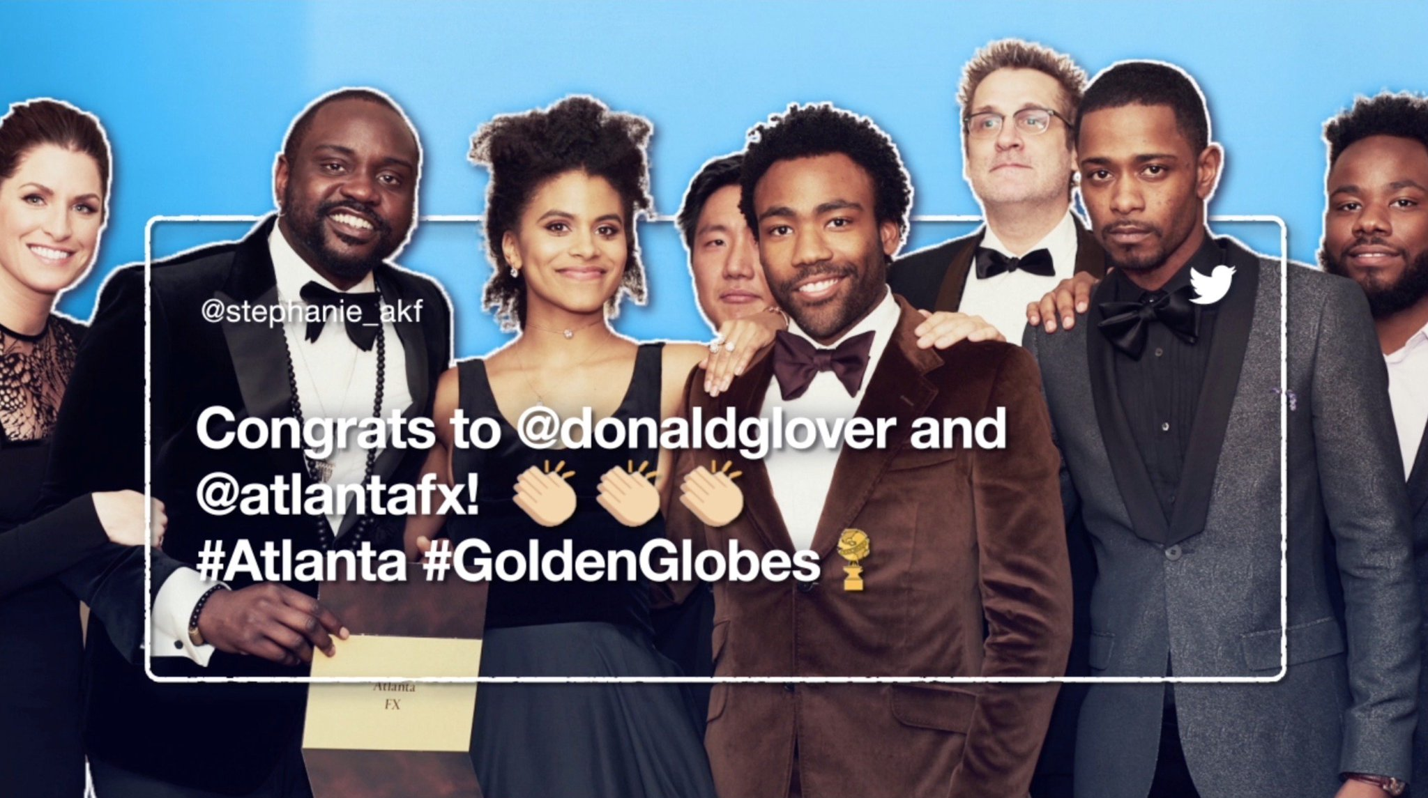 They walked. You talked.  Check out the highlights from last night's #GoldenGlobes https://t.co/rPhcjwPbHd