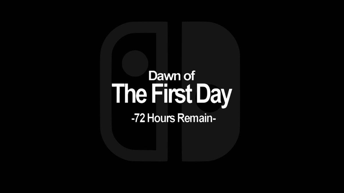 Three days to go. #NintendoSwitch #sorrynotsorry https://t.co/K1E34Fo7rI