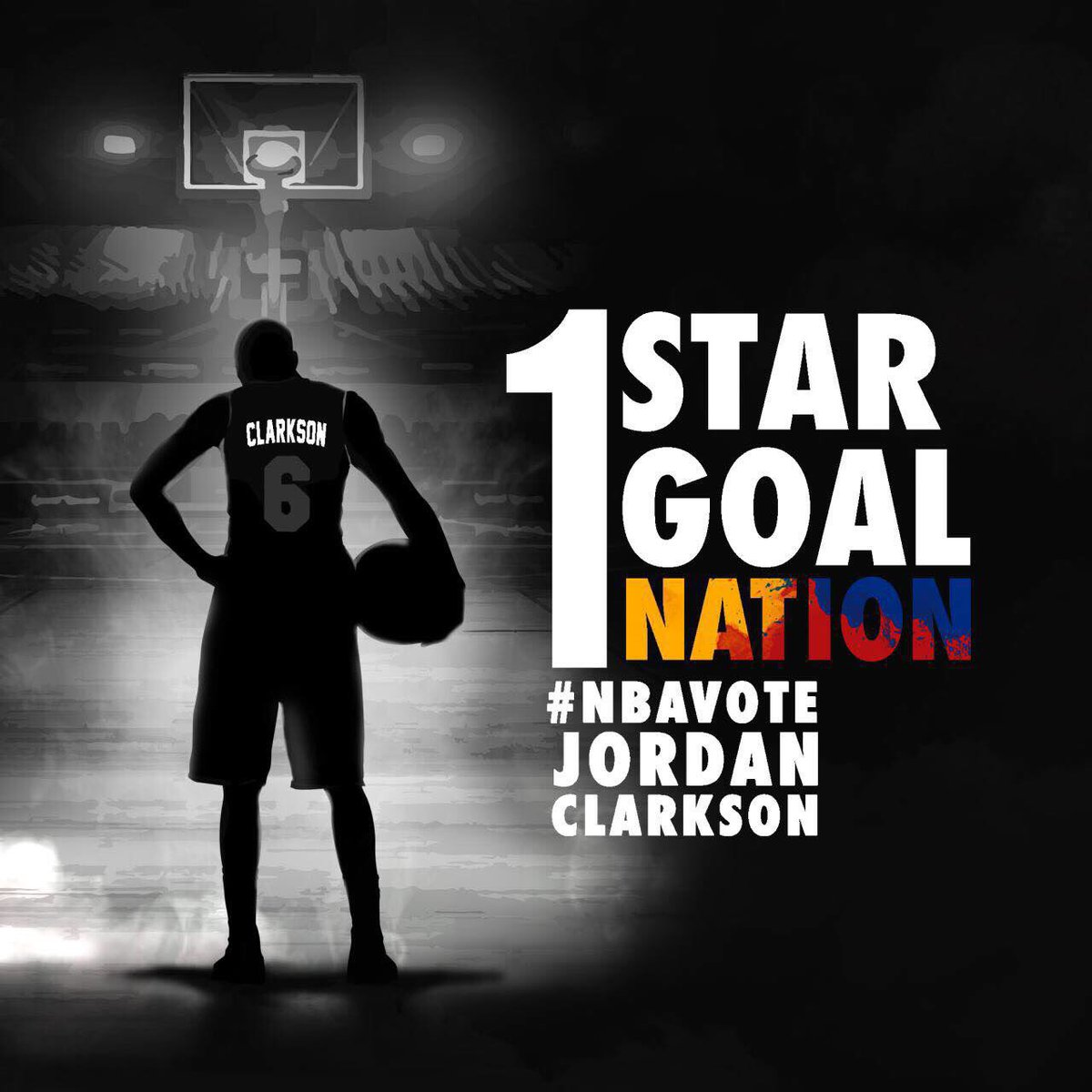 Imagine if the entire Philippines RT'd this.... Jordan Clarkson #NBAVote @Lakers @JClark5on @BTVHoops https://t.co/KCENRpkUbS