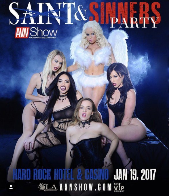 Join us ladies Jan 19th as we host the Saint & Sinners party at the @HardRockHotelLV https://t.co/vk