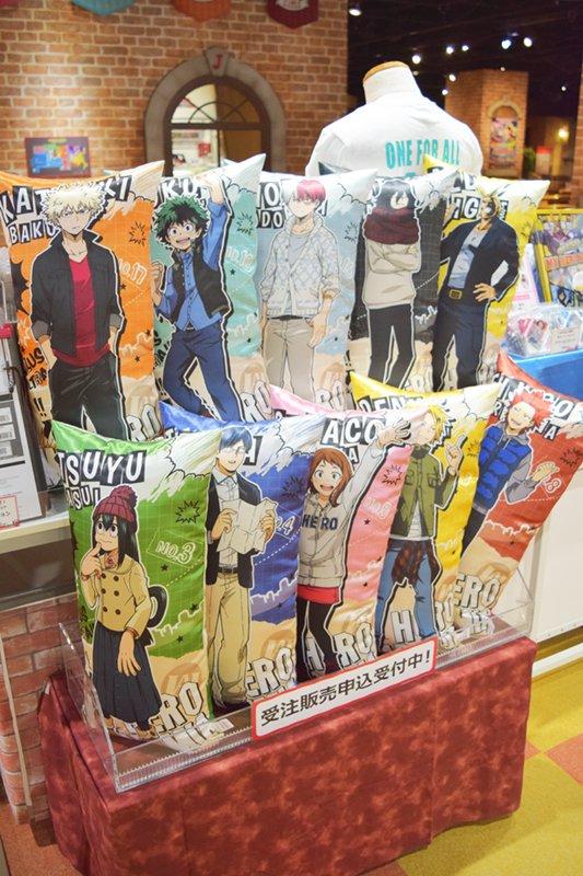 「僕のヒーローアカデミア in J-WORLD」開催中!私服姿のキャラクター達は、すべてJ-WORLDオリジナルの描き下