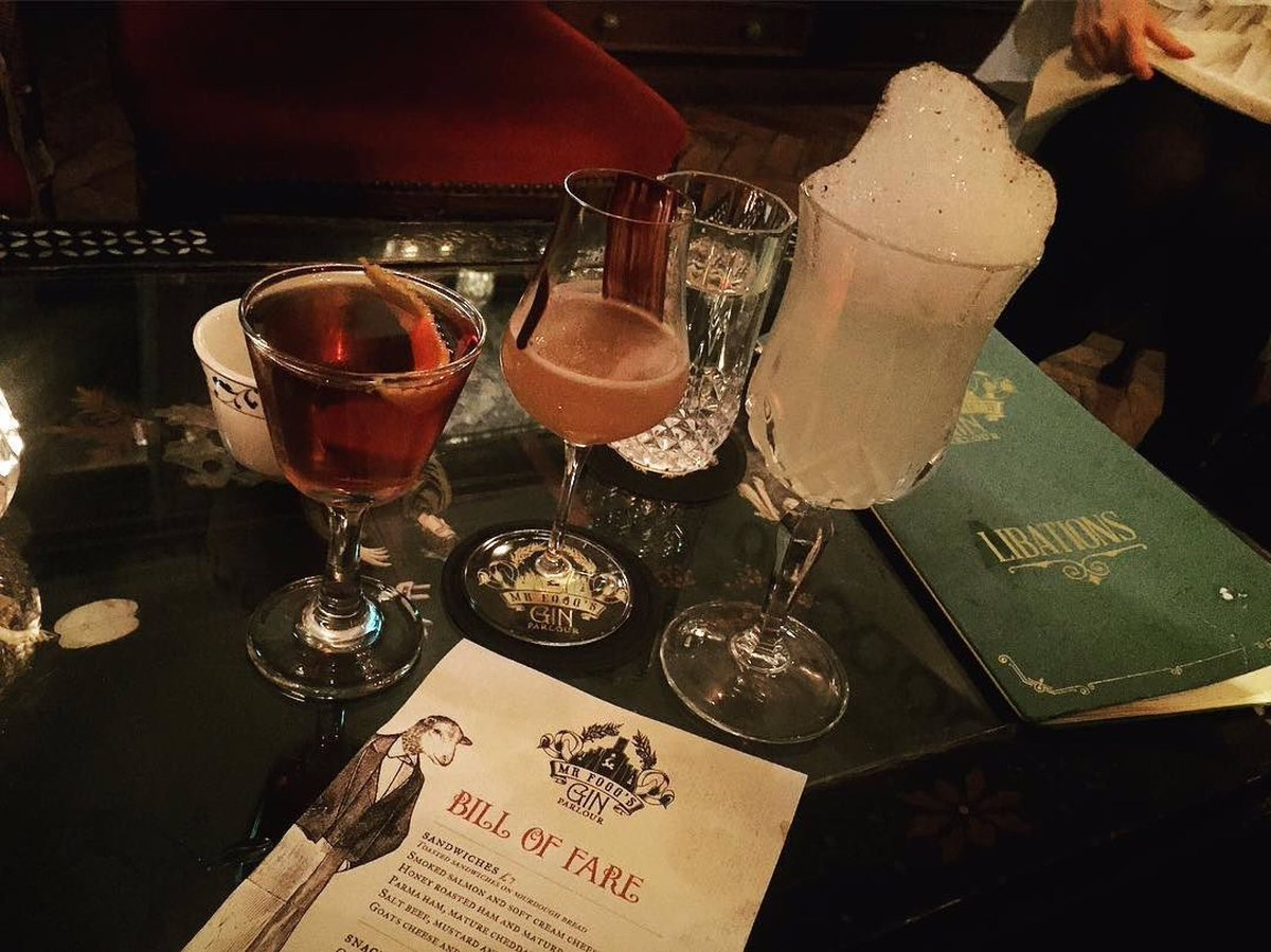 Mr. Fogg's Tavern London's Craziest Bars