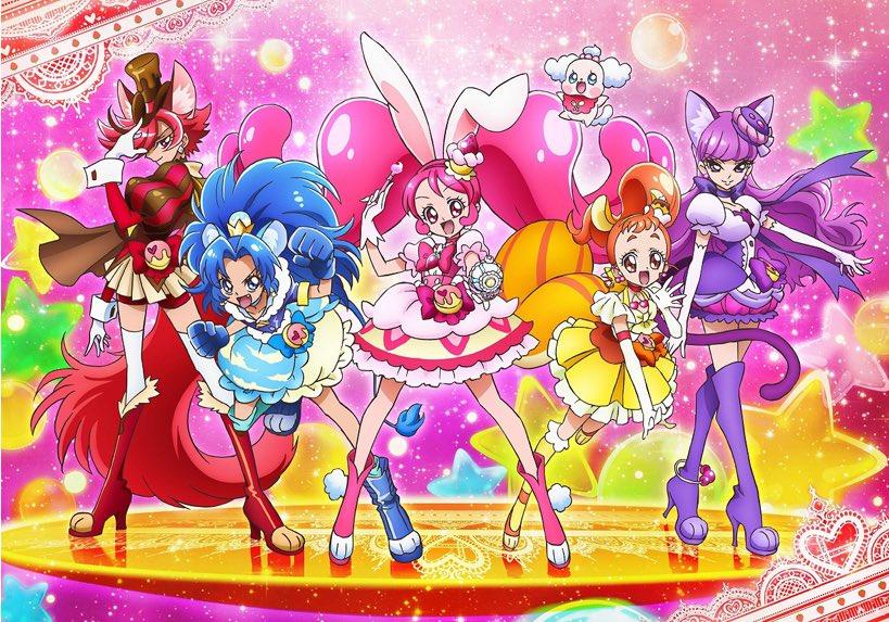 キラキラ☆プリキュアアラモードがスイーツ×動物(ケモミミ)のポップで明るいプリキュアで話題になっているのですが、同じケモ