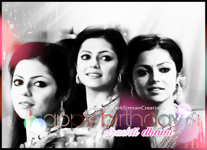 Happy Birthday Drashti Dhami.