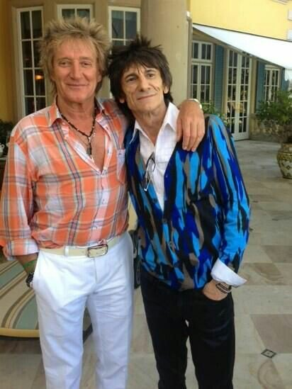 Happy birthday Sir Rod Stewart!