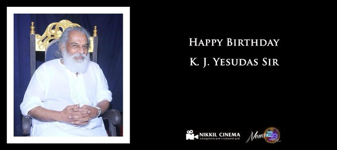 Happy Birthday K. J. Yesudas Sir :)