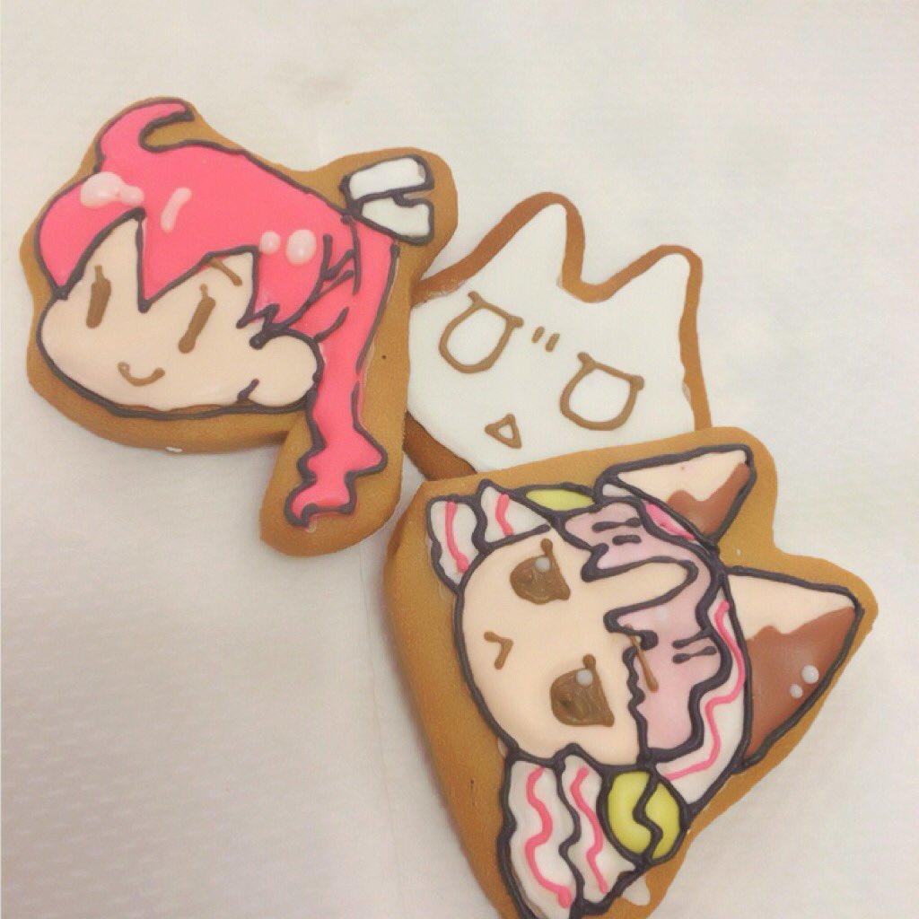 アイシングクッキーでネネとクラりんかんたんクラりんの簡単さよ! #kpandora