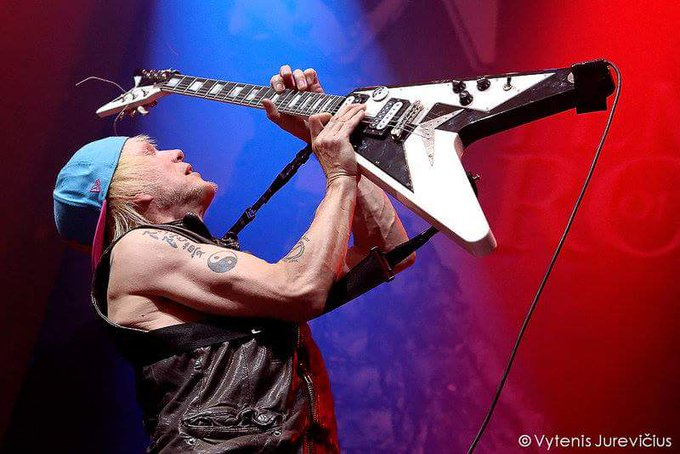 Michael Schenker  guitar god Happy bday