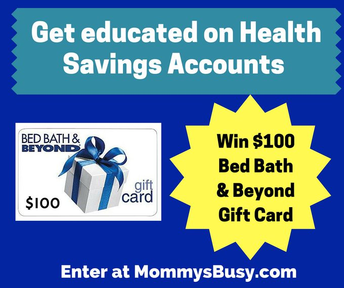 Win a $100 Bed, Bath & Beyond Gift Card While Figuring Out What an HSA Really Is