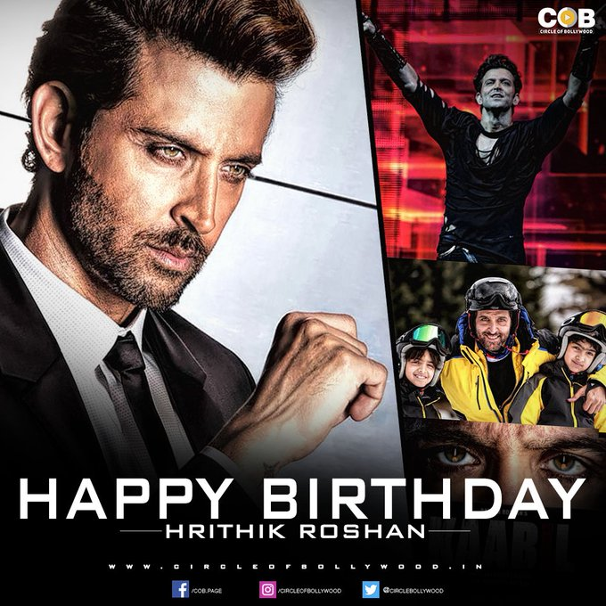 Happy birthday: message goes berserk wishing the Greek God Hrithik Roshan!