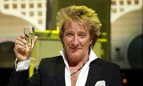 Still rocking, Rod Stewart - Happy Birthday