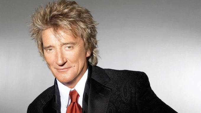 Happy birthday Rod Stewart! 72 today.