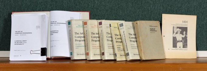 Happy Birthday Mr Donald Knuth!