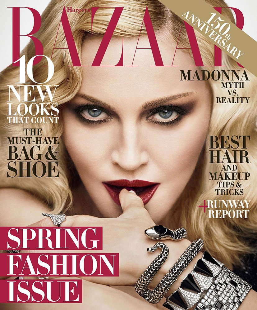 150th Anniversary issue of @harpersbazaarus on newsstands Jan 17! Preview it here: https://t.co/r87R9uvnrq https://t.co/jlSwinQSZl