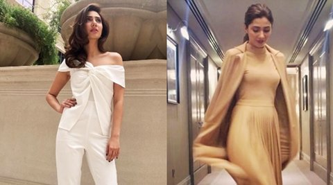 Pak actress Mahira Khan keeps it chic and classy for Raees promotions, a far cry from her traditional look in thefilm