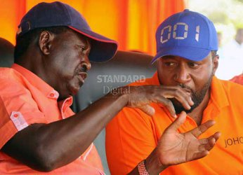 Raila's ID in yet another double voter registration