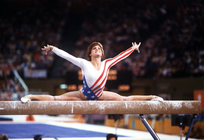 Happy 48th birthday to Mary Lou Retton, 1984 Women\s Olympic Gold Medalist and all around champion!